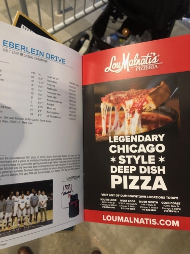 Lou Malnati's in TBT on ESPN program